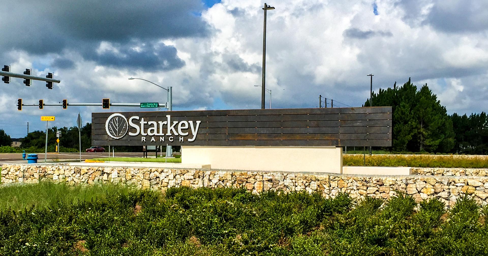 Starkey Ranch - Identity Sign